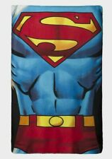 Boy Girl Superman DC Comics Children's Soft Snuggle Fleece Blanket New