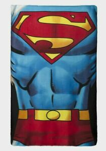 Boy Girl Superman DC Comics Children's Soft Snuggle Fleece Blanket New