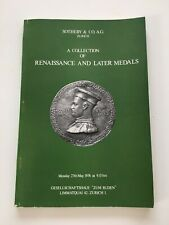 Sotherby catalogue of English, Dutch, French and Italian medals June 1975