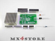 Dot Matrix Modul 8x8 3mm MAXIM MAX7219 Bausatz Arduino STM32 368