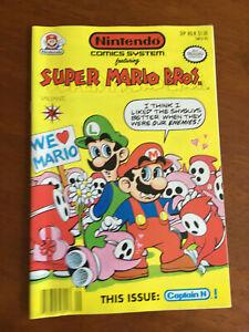 NINTENDO COMICS SYSTEM # 8 FINE VALIANT COMICS 1991 NINTENDO SUPER MARIO