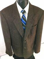 Hugo Boss EINSTEIN Men/'s Brown Sport Coat 3-Btn Jacket Light Wool Blazer 44 R