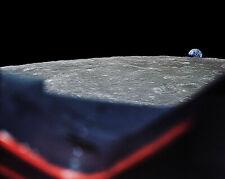 Nasa Schräg Earthrise von Apollo 8 Weltraumfahrzeug 11x14 Silber Halid Fotodruck