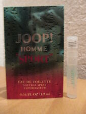 JOOP! ~ HOMME SPORT ~ ED Toilette Parfum Probe NEU OVP