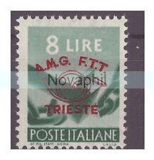 TRIESTE A - 1948  CONGRESSO FILATELICO    LIRE  8  NUOVO **