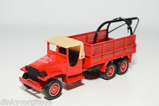 SOLIDO GMC POMPIERS DEPANNEUSE SECOURS BREAKDOWN TRUCK NEAR MINT CONDITION