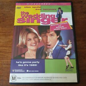 The Wedding Singer DVD R4 Like New! FREE POST