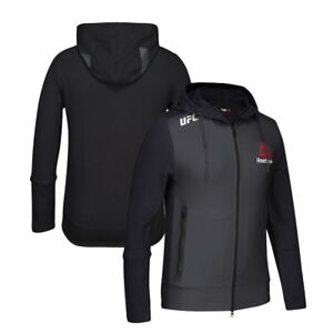 Reebok Official UFC Fight Kit (Black) Walkout Hoodie Men's