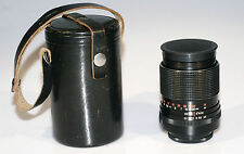 M42-Carl Zeiss Jena Sonnar Electric 3,5/135mm MC DDR Caps & CASE 6 Blade