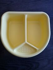 Baby top and tail bowl - yellow