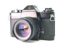 【As-is】Pentax Es ii w/ Smc Takumar 55mm f1.8 from JAPAN