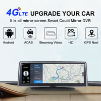 "7.84"" Android 5.1 Car Dash Camera Recorder GPS Navi 16G WIFI BT FM ADAS DVR"