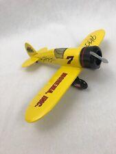 Model Airplane Die Cast Metal Bank Mac Tools Mordema Inc Travel Air Mystery Ship