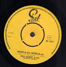 DUO ALBERT & HIJ – Hoepla Die Hoepla Da  (1968 BEATLES VINYL SINGLE 7' HOLLAND)