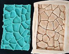 Silicone Mould STONE ROAD FORMS Sugarcraft Fondant / fimo mold