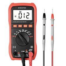 Digital Multimeter Eventek ET580 LCD Auto Ranging Multi Meter Amp/Ohm/Volt AC...