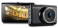 "Amcrest ACD-830B Dash Camera 1080P 3"" LCD Car DVR with 16GB Micro SD Card,"