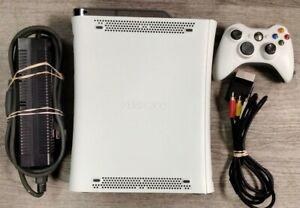 Microsoft Xbox 360 Pro 20GB Console - Matte White (Read Description)