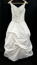 Demetrios Ball Gown Wedding Dress in Ivory, Pickups, Beading, in Size 6 - SAL