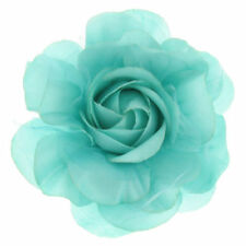 Flowers Turquoise Costume Brooches & Pins