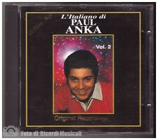 PAUL ANKA - VOL 2 L'italiano di Anno 1993 Golden Age