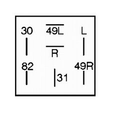 Blinkgeber HELLA 4DB 006 716-041