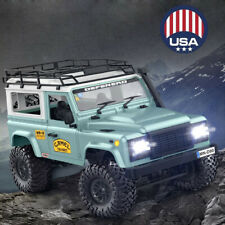 A MN-90 1/12 2.4G 4WD Off-road RC Car With Spare Tire Front LED Lights Truck RTR