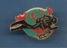 Pin's pin PLONGEE HOMME GRENOUILLE C.C.V (ref 027)