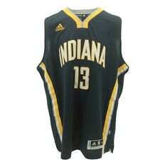 """Indiana Pacers Youth Size Paul George #13 Adidas Swingman Jersey +2"""" New"""