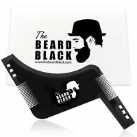 Beard Shaping & Styling Tool with inbuilt Comb for Perfect line up & Edging