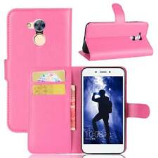 Custodia Luxury Libro Portafogli per Huawei Honor 6a Flip Cover Supporto Rosa
