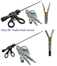 Laparoscopy Robi Bipolar Forceps Bipolar Marryland Rotatable 2 Cable 4Pc