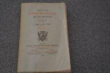 HISTOIRE CONTEMPORAINE DE LA FRANCE J-A PETIT TOME 5 1883