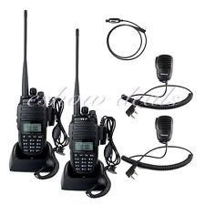 2* TYT VHF/UHF Walkie Talkie 10W 128CH FM Radio&2*Speaker mic&1Program Cable CO