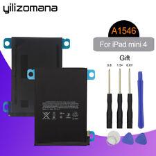 YILIZOMANA Tablet Battery For iPad mini 4 5124mAh A1546 A1546 A1538 Free Tools