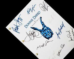 Donnie Darko Film Movie Script Screenplay Signature Autograph Reprint Gyllenhaal