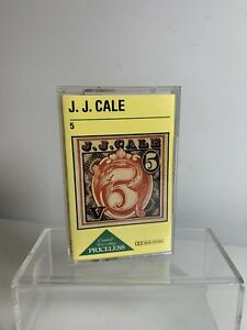 J.J. Cale 5 Cassette Tape Album Mercury Records 1979 Excellent Condition