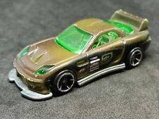 2006 Hot Wheels 24/seven Drift Kings Brown Green #3 VGC