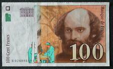 France - Francia - Billet de 100 Francs Cézanne de 1997