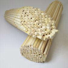 10Pcs 25/35cm Length Round 5mm Bamboo Sticks DIY Hand Crafts Manual Supplies