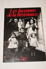 LES INCONNUS DE LA RESISTANCE-ILLUSTRE BENOIT SILVESTRE L'HUMANITE GUERRE 39 45
