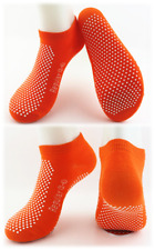 6 x Yoga Non Slip Grip Socks - Yoga Pilates Fitness Safety - Physio Approved-Reg