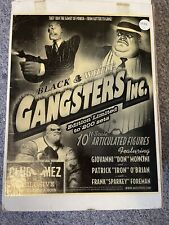 Mezco Toys 10? Black & White Gangsters Inc Limited Edition Frank Foreman