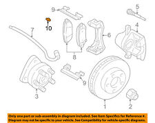 GM OEM Brake-Front-Bleeder Valve 25846360