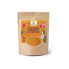 Certified Organic Turmeric Powder 250g Re-sealable Haldi Curcumin Curcuma Longa