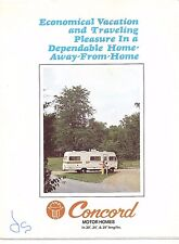 1973/4 Champion Motor Home Color Photo Large Fold-Out Brochure