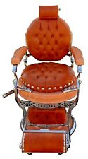 Antique 1920s Art Deco Style Double Koken Barber Chair, Fully Restored