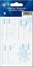 Gefrieretiketten 3 Bogen selbstklebend für Tiefkühlware Tiefkühletiketten