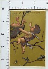 St. Nicholas Toy Games Lawn Tennis Archery Cherub Baby Birds Nest Image F74