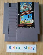 Nintendo NES Super Mario Bros / Duck Hunt PAL - Version Espanola